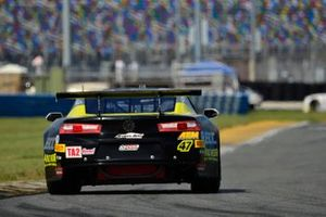 #47 TA2 Chevrolet Camaro driven by Greg Sacks of ECC Motorsports
