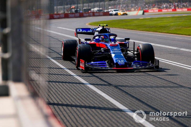 13 місце — Александер Албон (Таїланд, Toro Rosso) — коефіцієнт 2001,00