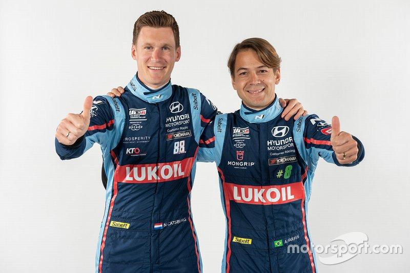 Nick Catsburg, Augusto Farfus, Hyundai BRC Team