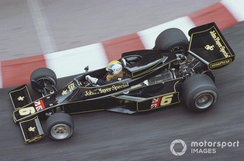 Gunnar Nilsson, Lotus 77 Ford