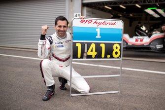 El récord en Spa con el Porsche 919 Hybrid Evo