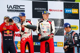 Esapekka Lappi, Citroen World Rally Team, Martin Järveoja, Ott Tänak, Toyota Gazoo Racing WRT Toyota Yaris WRC