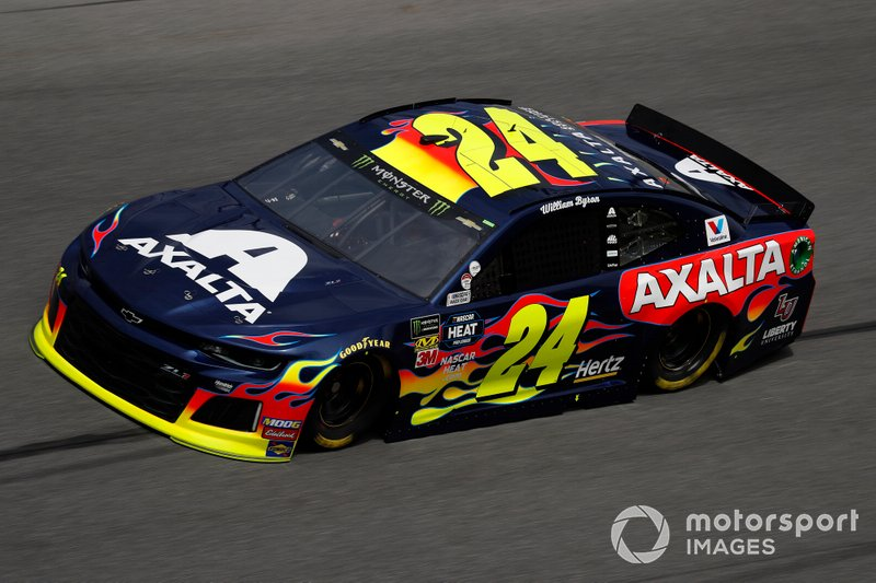 1. William Byron, Hendrick Motorsports, Chevrolet Camaro Axalta