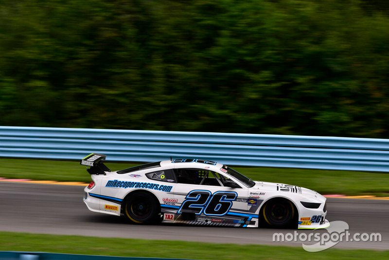 #26 TA2 Ford Mustang driven by Tony Buffomante of Mike Cope Racing