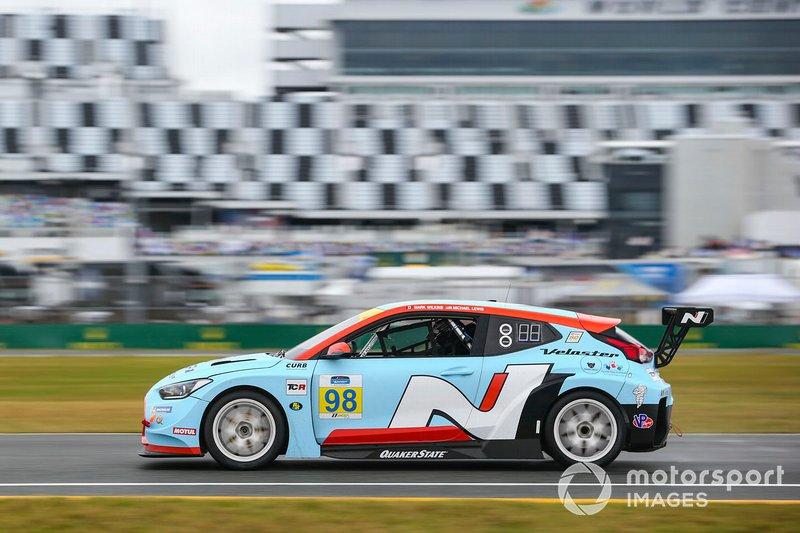 #98 Byan Herta Autosport W Curb-Agajanian Hyundai Veloster N TCR, TCR: Mark Wilkins, Michael Lewis