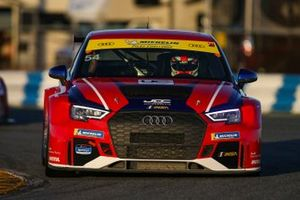 #54 JDC-Miller MotorSports Audi RS3 LMS TCR, TCR: Michael Johnson, Stephen Simpson, Mikey Taylor