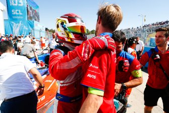 Pascal Wehrlein, Mahindra Racing, festeggia