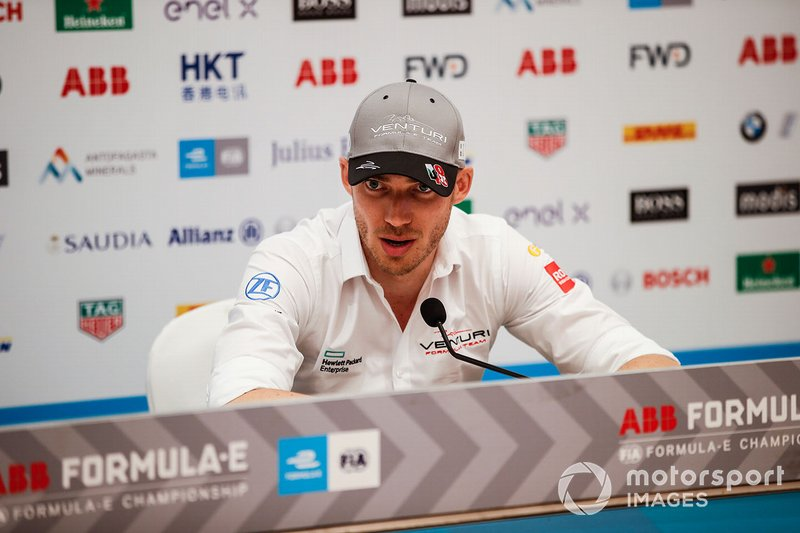 Edoardo Mortara, Venturi Formula E, in conferenza stampa
