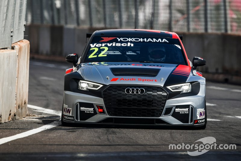 №22. Фредерик Вервиш (Бельгия, 32 года), Audi RS 3 LMS, команда Comtoyou Team Audi Sport
