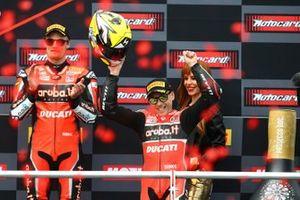 Alvaro Bautista, Aruba.it Racing-Ducati Team, Chaz Davies, Aruba.it Racing-Ducati Team