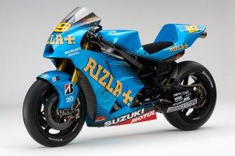 Suzuki MotoGP 2011 detalle de la moto