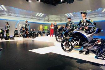 La présentation Sky Racing Team VR46