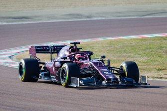 Alfa Romeo Racing shakedown