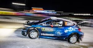 Понтус Тидеманд и Ула Флёне, M-Sport Ford WRT, Ford Fiesta WRC
