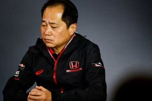 Toyoharu Tanabe, F1 Technical Director, Honda, in the Friday Press Conference