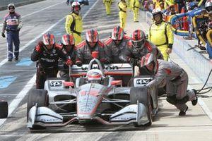 Will Power, Team Penske Chevrolet pitstop