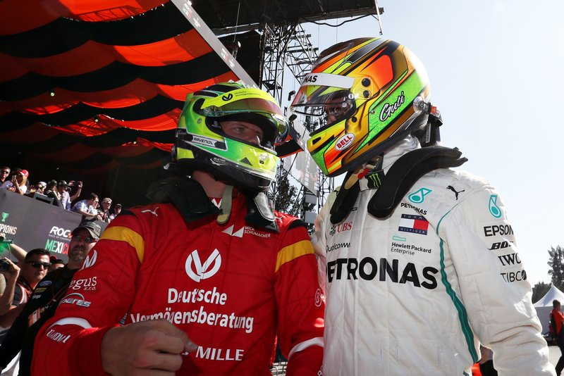 Mick Schumacher et Esteban Gutierrez