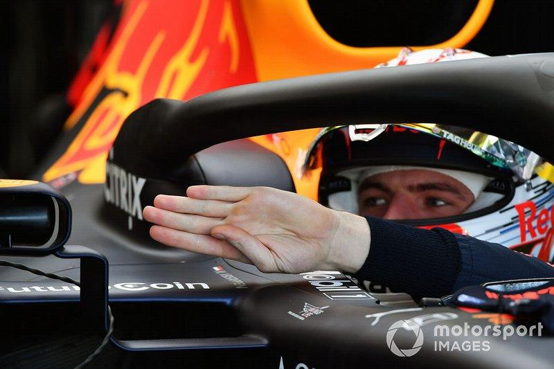 4 місце — Макс Ферстаппен, Red Bull. Умовний бал — 28,70