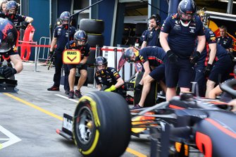 Prove pit stop Red Bull