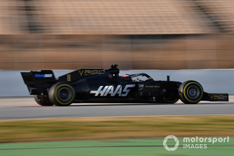 Ромен Грожан, Haas F1 Team VF-19, 1:21.826