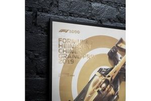 Commemorative F1 100th GP Poster