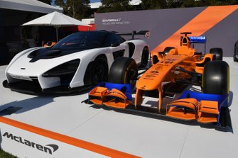 McLaren cars in Albert Park