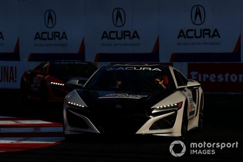 Acura NSX Pace car