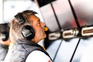 Paul James, Team Manager, McLaren