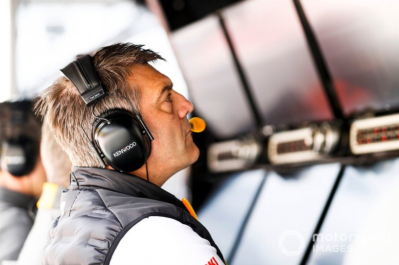 Paul James, Director de Equipo, McLaren