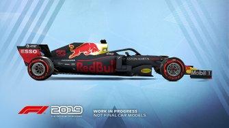 Livrée Red Bull Racing dans F1 2019