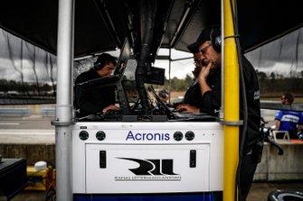 Takuma Sato, Rahal Letterman Lanigan Racing Honda, engineers