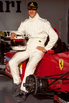 Michael Schumacher, Ferrari, first test