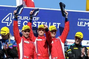 Podium: Winner GTE #51 Luzich Racing Ferrari F488 GTE: Alessandro Pier Guidi, Nicklas Nielsen, Fabien Lavergne