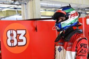 #83 AF Corse Ferrari 488 GTE EVO: Alessio Rovera