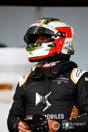 Antonio Felix da Costa, DS Techeetah, DS E-Tense FE21, in the garage
