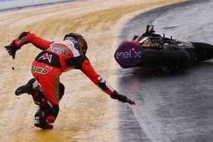 Crash, Lukas Tulovic, Tech 3 E-Racing