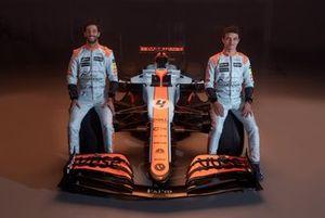 Daniel Ricciardo, McLaren, Lando Norris, McLaren