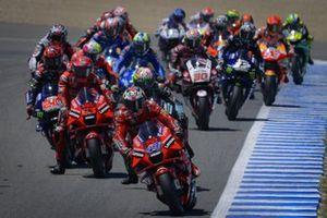 Start zum GP Spanien 2021 in Jerez: Jack Miller, Ducati Team, führt