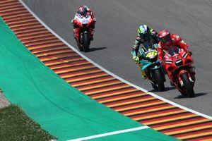 Francesco Bagnaia, Ducati Team, Valentino Rossi, Petronas Yamaha SRT, Jorge Martin, Pramac Racing