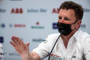 Allan McNish, Team Principal, Audi Sport Abt Schaeffler, in conferenza stampa