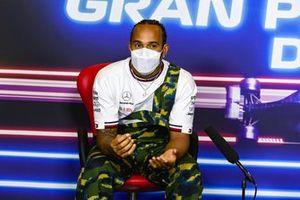 Lewis Hamilton, Mercedes in persconferentie