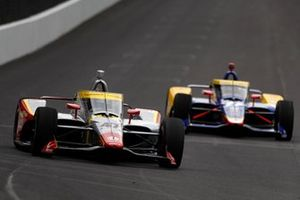 Conor Daly, Ed Carpenter Racing Chevrolet, Alexander Rossi, Andretti Autosport Honda