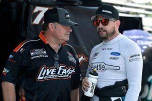 Kyle Tilley, Live Fast Motorsports, Ford Mustang Bremont / Battle Associates and Frankie Kerr