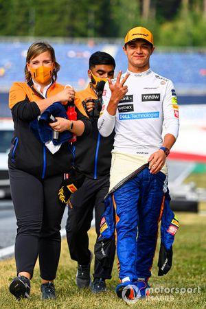 Lando Norris, McLaren, 3rd position