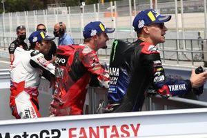 Polesitter Fabio Quartararo, Yamaha Factory Racing, Jack Miller, Ducati Team