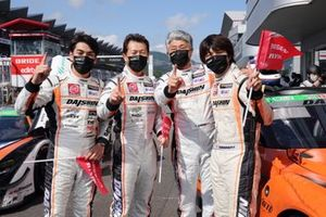 Nobuyuki Oyagi, Takayuki Aoki, Kiyoto Fujinami, Natsu Sakaguchi, #81 DAISHIN GT3 GT-R