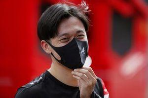 Guanyu Zhou, test driver, Alpine F1