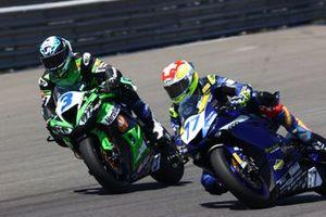 Raffaele De Rosa, Orelac Racing VerdNatura,, Dominique Aegerter, Ten Kate Racing Yamaha