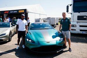 Alexandre Lacazette, Nico Hulkenberg, Aston Martin