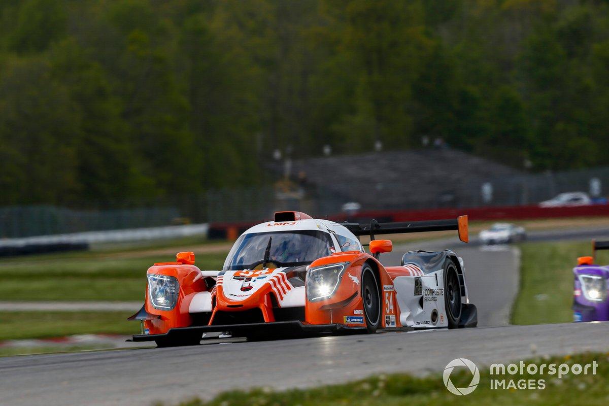 #54: Core Autosport Ligier JS P320, LMP3: Jonathan Bennett, Colin Braun